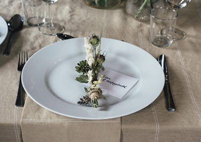 tischdekoration für Restaurants