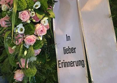 Trauerfloristik in Solingen